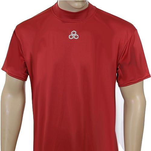 Mcdavid 907 Chemise à Manches Courtes pour Homme Motif Logo Avant évoiturelate Taille M