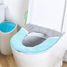 Corduroy PU Closestool Soft Warmer All Shape Bathroom Protector Toilet Cover Seat Lid Pad Reusable Durable Easy Clean Life...
