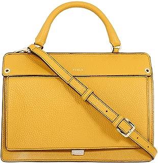 Like Ladies Small Yellow Ginestra Leather Crossbody 978274
