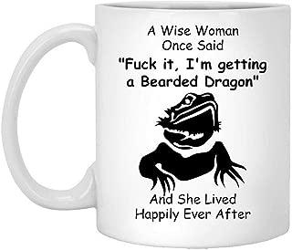 Bearded Dragon Gifts For Women, Funny Bearded Dragon Mom Coffee Mug