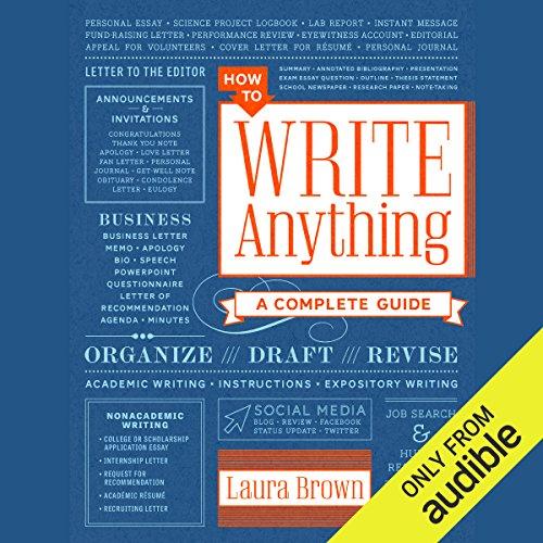 How to Write Anything Titelbild