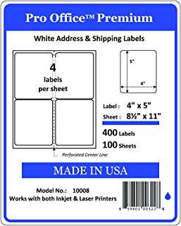 avery mailing labels 4 per sheet