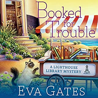 Booked for Trouble audiobook cover art
