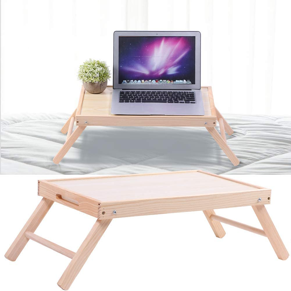 Folding Computer Desk Free Shipping Cheap Bargain Gift Bed Tray Rare Easy Trav Home Right Size for