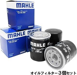 【3個セット】 MAHLE (マーレ) オイルフィルター オイルエレメント ホンダ (CR-V CR-Z CR-X HR-V N-BOX N-ONE N-VAN N-WGN S-MX アクティ アコード インスパイア インテグラ ヴェゼル エア...