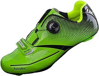 Zapatillas de Ciclismo de Carretera Malla Transpirable Plantilla de EVA para Estilo SPD, SPD SL