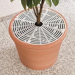hochwertiger Stoff LYLANI Blumentopfschutz Durchmesser: 26-28 cm, Schwarz innovatives Design