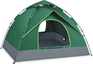 BATTOP 4 Person Tent for Family Camping Instant Pop Up Tents 4 Seasons Waterproof Tent for Outdoor