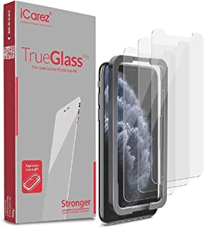 iPhone 11 Pro/iPhone Xs/ 5.8-inch Screen Protector (3 packs) Tempered Glass + Tray Installation, ANTI-SCRATCH, NO-BUBBLE, ...