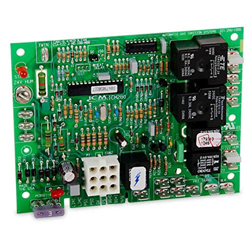 2 Pack ICM Controls ICM280 Furnace Control Replacement Board