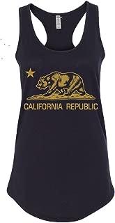 Women's California Republic Racerback Tank Top