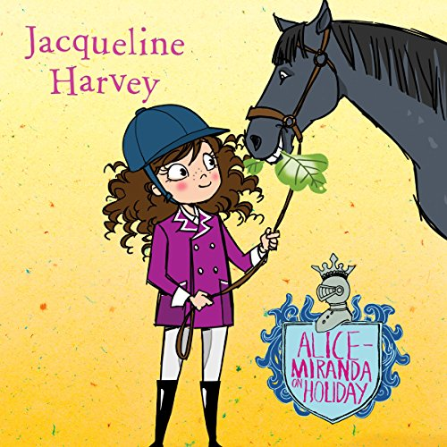 Alice-Miranda on Holiday audiobook cover art