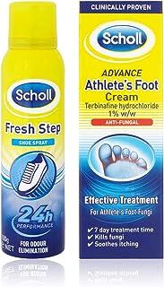 Athletes Foot Cream 15g & Fresh Step Shoe Spray 150ml