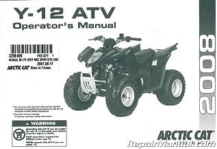 2258-009 2008 Arctic Cat 90 DVX 90 Utility ATV Owners Manual