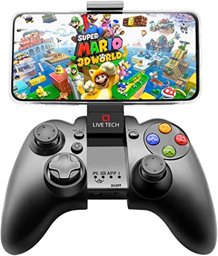 Live Tech Yo!Man Wireless Smart Gamepad with Bluetooth Dongle Android PC Playstation(Does NOT Support MTK Processor A...