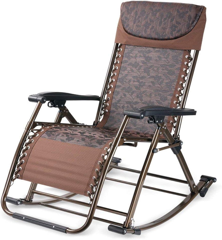 descuento Deawecall Mecedora Simple y Creativa Creativa Creativa Multifuncional, Silla de Fitness, sillón reclinable, Silla Plegable, (Color  marrón), marrón,  cómodo