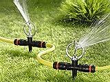 UPP, irrigatore a spruzzo a 360° per il prato, irrigatore a pioggia, sprinkler
