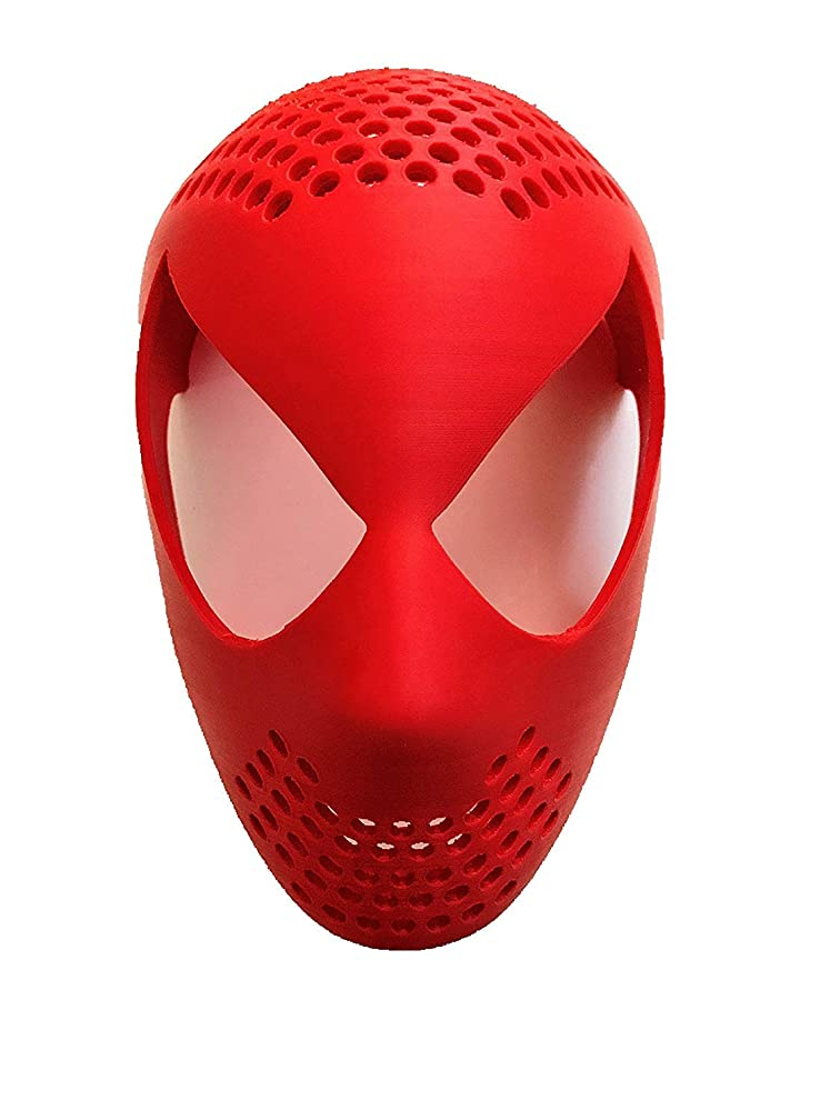 Spider-Man Face Shell 3D Printed Mask | Homecoming Spiderman | Amazing Spiderman | Infinity War | PS4 Movie Accurate Design
