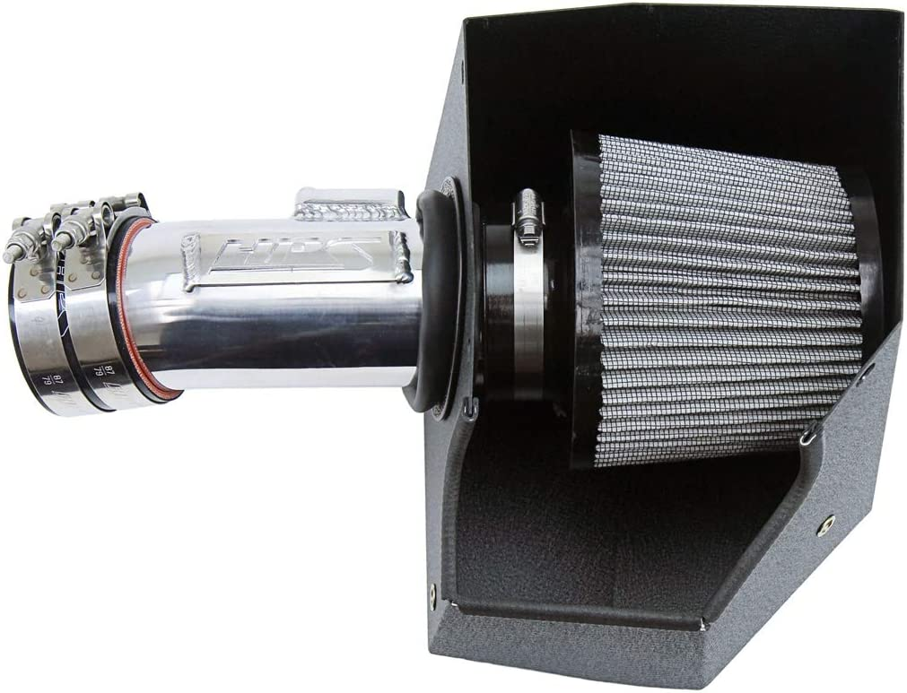 HPS Performance 827-656P Max 47% 2021new shipping free shipping OFF Cold Air Intake Heat Shield Po with Kit