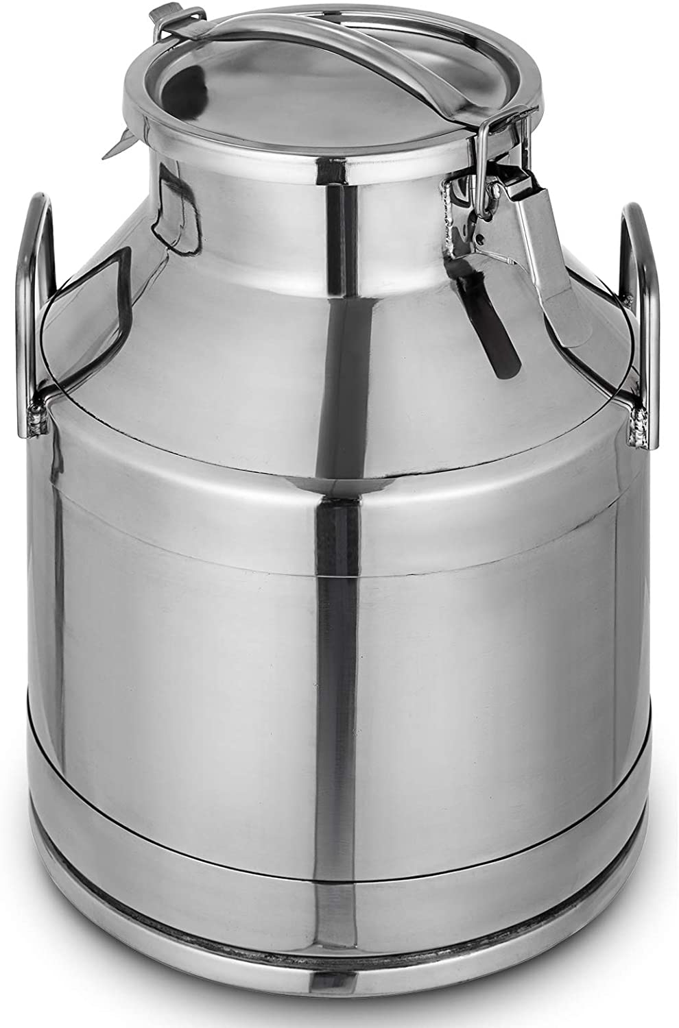 Mophorn Stainless Steel Milk Can 20 Liter Milk bucket Wine Bucket