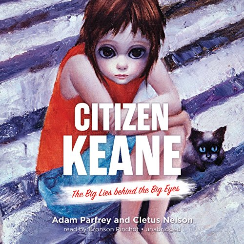 Citizen Keane audiobook cover art
