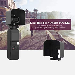 Yifant Extended Lens Hood Screen Protector Case for DJI OSMO Pocket Gimbal Camera Fully Cover Accessories