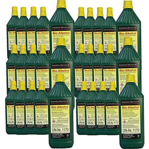 30 Litri di Bioetanolo Kamin Center prodotto in Germania- Bioetanolo puro!Adatto per tutti i biocamini in commercio-testato TUF