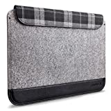 Inateck Ultra Slim 13-13.3 Inch Apple MacBook Air/Pro Retina Sleeve Case Cover Carrying Case Protector Bag, Compatible with Dell XPS 13, Gray