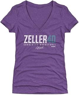 500 LEVEL Cody Zeller Women's Shirt - Charlotte Basketball Shirt for Women - Cody Zeller Zeller40