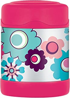 Thermos Floral FUNtainer Food Flask - 290 ml, Pink