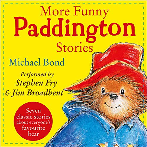 More Funny Paddington Stories (Paddington) audiobook cover art