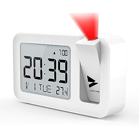 Q-Time /à projection clock LED argent