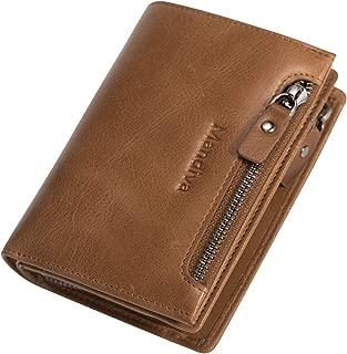 [Mandiva] 財布 本革 メンズ 大容量コインケース