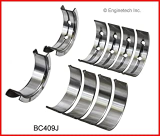 Enginetech BC409JSTD Main Bearings GM 4.8L 293 5.3L 325 5.7L 346 6.0L 364