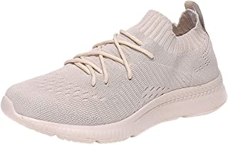 Men Casual Sports Running Shoes Couple Casual Breathable Lightweight Sports Shoes Woven Mesh Socks Sneakers