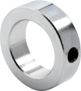 5//8 Bore Size Pack of 10 1-5//16 OD Climax Metals 2C-062X10 Steel Two-Piece Clamping Collar with 10-32 x 1//2 Set Screw Black Oxide Plating