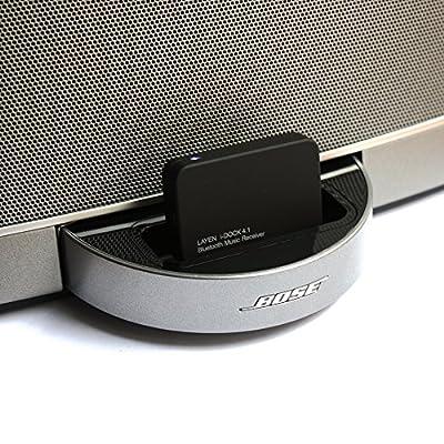 LAYEN i-DOCK Bluetooth Wireless Adapter Stereo Music Receiver with aptX & Multi Pair from LAYEN