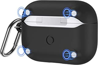 ESR HaloLock Soft Case Compatible with AirPods Pro (2019), Supports Magnetic Charging, Drop Protection, Easy-Open Design, ...