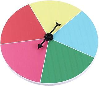 TOYANDONA Spinning Koła Nagród 5 Gniazd Ścienne Nagrodę Koła Spinner Obracanie Strzałki Matematyka Spinner Karnawał I Targ...