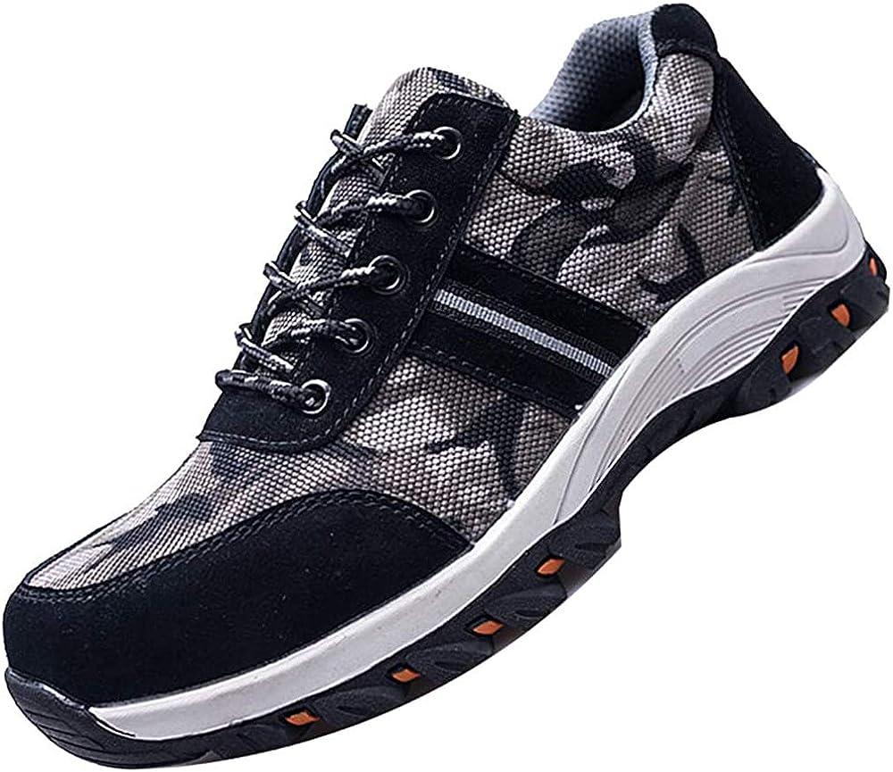 Price reduction JACKSHIBO Steel Toe Shoes Indestructible Men Safety In stock Work