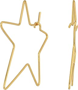 Rebecca Minkoff - Rock Star Hoop Earrings