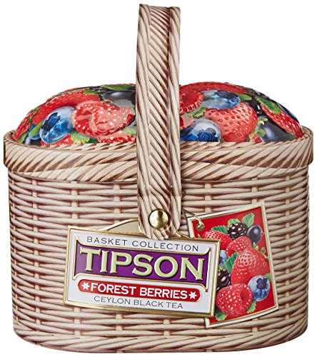 Basilur Ceylon Schwarztee Tipson Forest Berries lose schwarzer Tee Geschenke