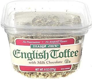 Trader Joe's English Toffee with Milk Chocolate, 8 oz