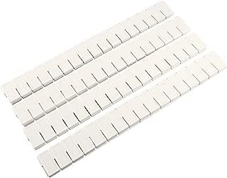 Anladia 12-24x Adjustable DIY Grid Clapboard Divider Drawer Closet Storage Organizer