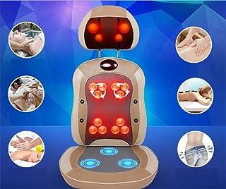 AMYMGLL Multifuncional de masaje de amortiguación versión de actualización silla de ejercicio en casa (piernas, caderas, cuello, cintura, espalda, pie) , 1