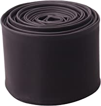 Heat Shrink Tube, Wire Wrap Electrical Cable Ratio 2:1 Heat Shrinkable Shrinking Sleeving Black (3M / 10Ft, Dia.50mm)