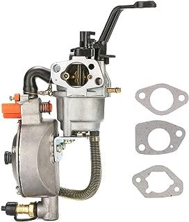 NIMTEK Dual Fuel Carburetor LPG Conversion kit for Generator 4.5-5.5KW GX390 188F Carburetor