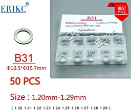 ERIKC B31 diesel injector washer and Fuel Injection Shim Kits,different types of gasket size:1.20mm-1.29mm