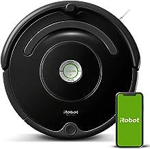 iRobot - Robot aspirador Roomba 671 conectado a WIFI, Para alfombras y suelos, Tecnología Dirt Detect, Sistema limpieza en...