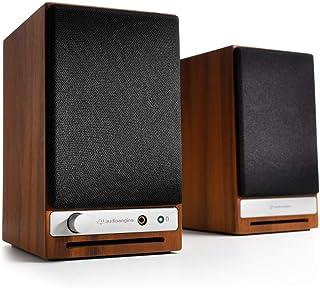 Audioengine HD3 Wireless Speaker | Desktop Monitor Speakers | Home Music System aptX HD Bluetooth, 60W Powered Bookshelf S...